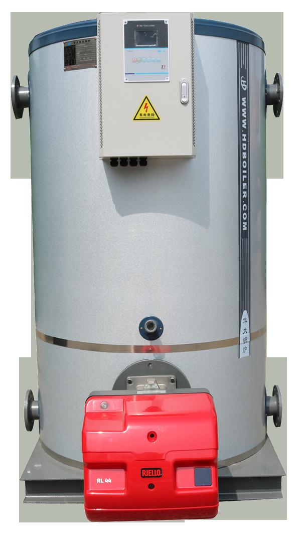 Vertical atmospheric hot water