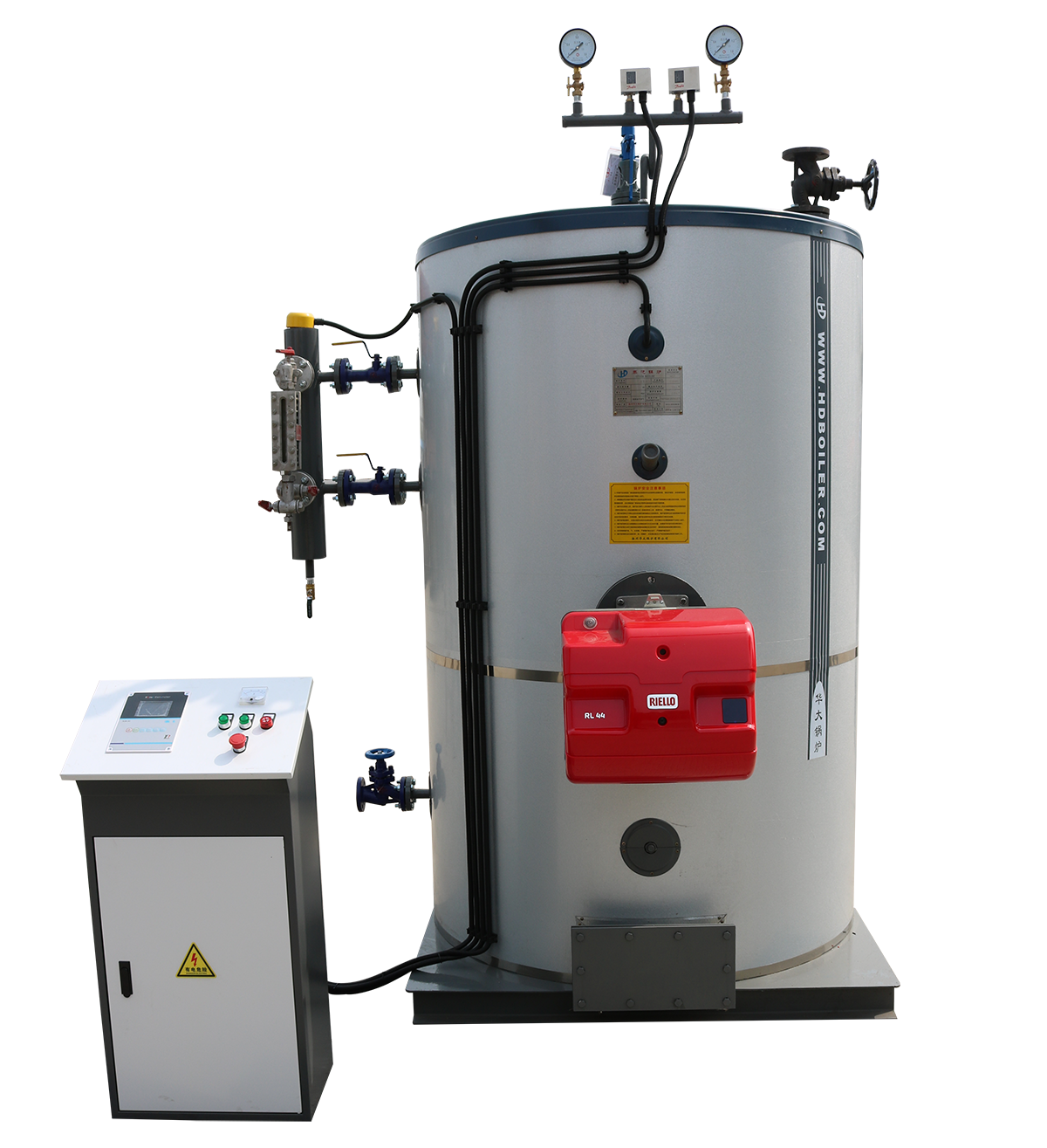 What are the advantages of using electric and thermal oil boilers?