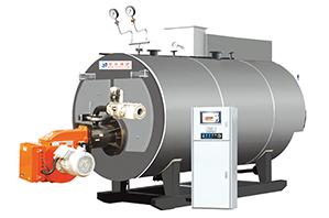 Pressure hot water boiler